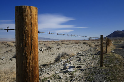 Wired (Along Hwy 95 between Hawthorne & Fallon, Nevada)
